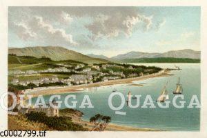 Dunoon am Ufer des Flusses Clyde