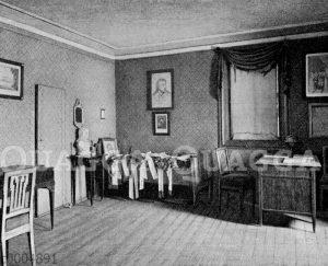 Schillers Arbeits- und Sterbezimmer