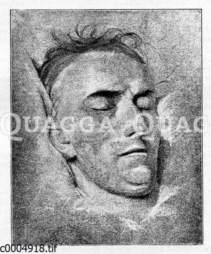 Friedrich Schiller auf dem Totenbett