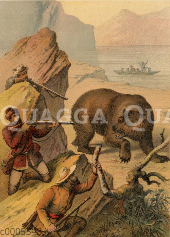 Bärenjagd auf Kamschatka