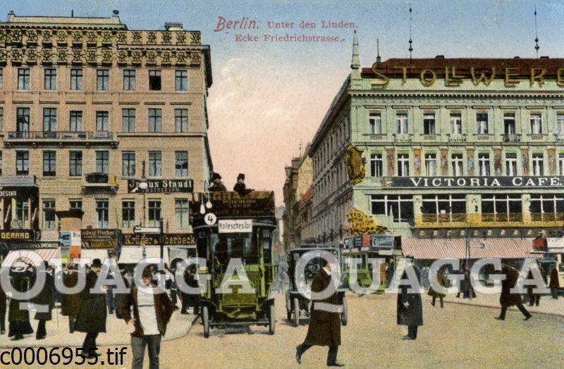 Berlin: Unter den Linden Ecke Friedrichstraße