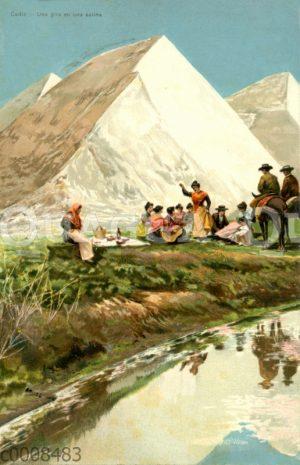 Cadiz: Ausflugsgruppe an den Salinen