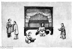 Niederkunft einer Chinesin