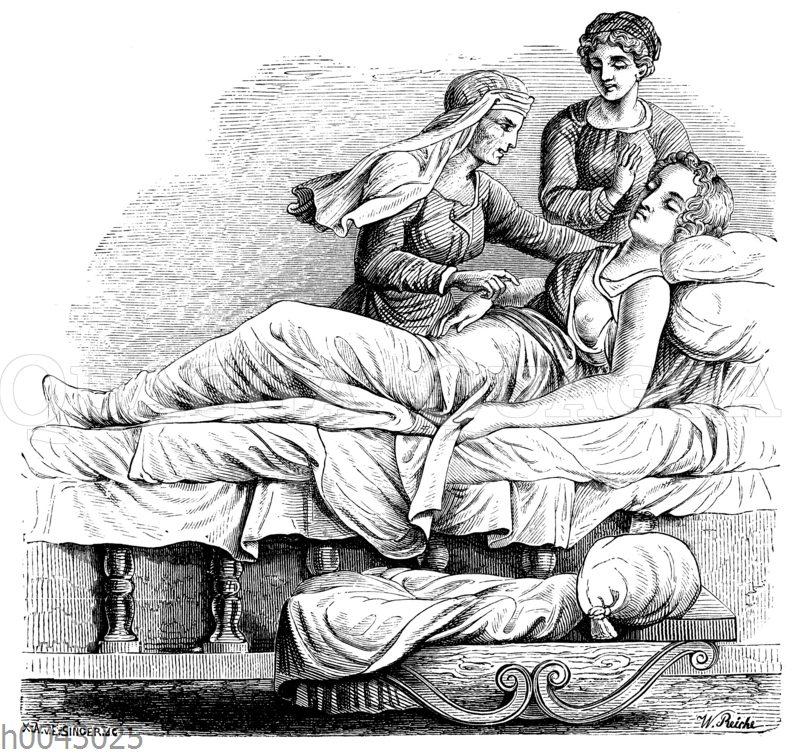 Italienische Geburtsszene (16. Jahrhundert)