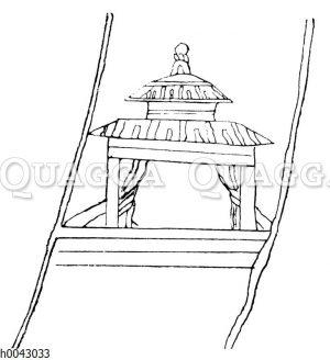 Indische Gebärhütte