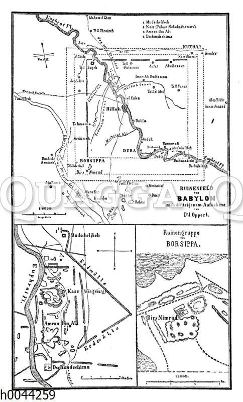 Ruinen von Babylon (Karten)