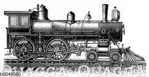Amerikanische Schnellzuglokomotive