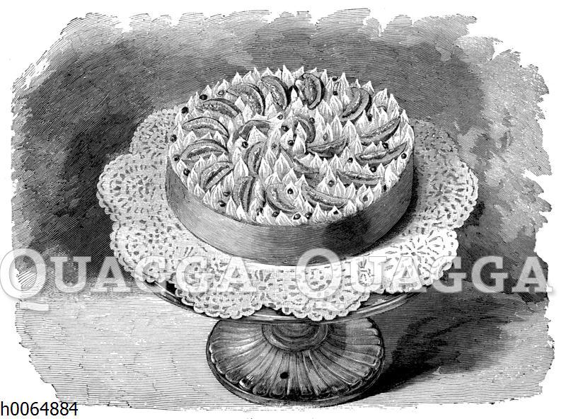Orangencreme-Torte