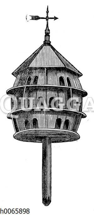 Taubenschlag aus Holz