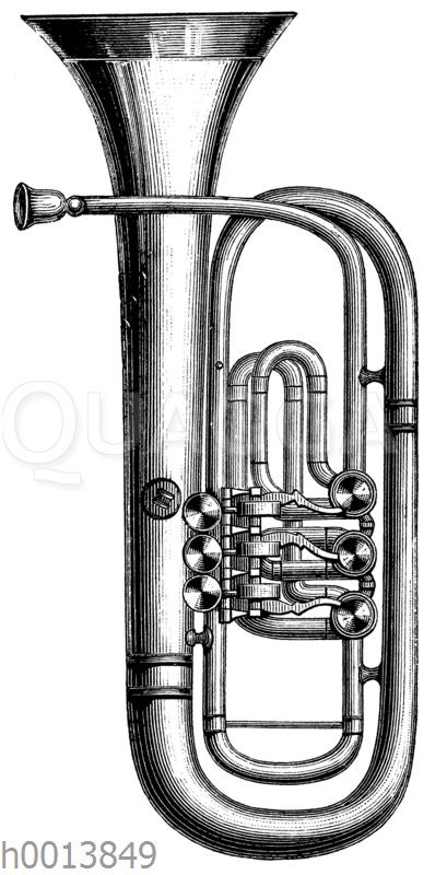 Bassflügelhorn (aufrechte Form)