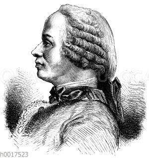 Jean le Rond d'Alembert (geb. 16. November 1717