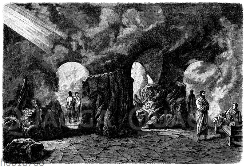 Dampfgrotte des Bades zu Battaglia