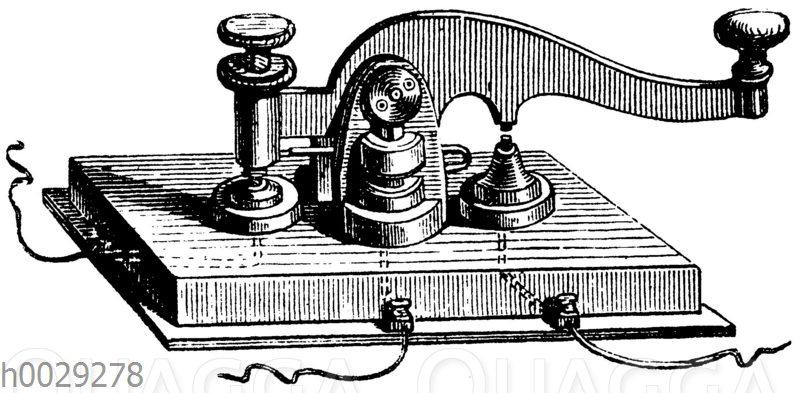 Taster zum Morserschen Apparat