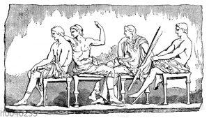 Göttergruppe aus dem Parthenonfries
