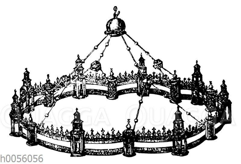 Kronleuchter Friedrich Barbarossas im Aachener Münster
