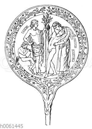 Etruskischer (sogen. Semele) Spiegel