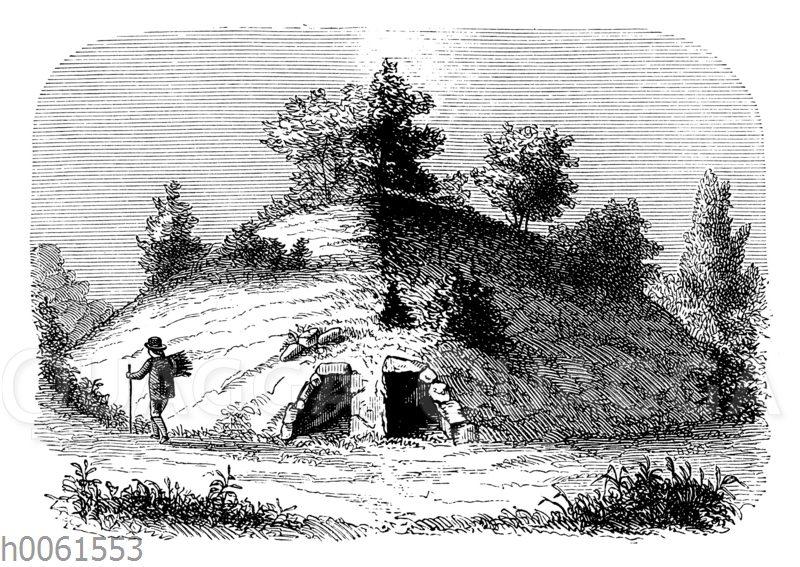 Tumulus mit Grabkammern