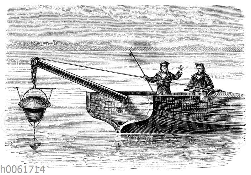 Auslegen von Kontakt-Torpedos