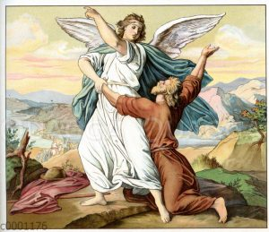 Jakob ringt mit dem Engel des Herrn