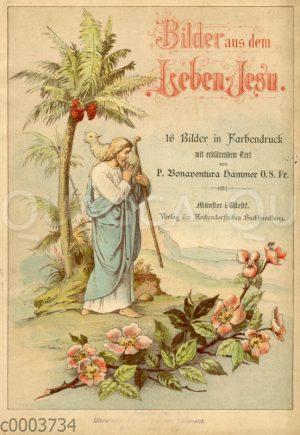 Jesus als guter Hirte. Titelblatt