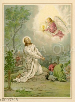 Jesus im Garten Getsemane
