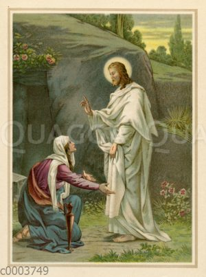 Christus ersteht vom Tode und erscheint seinen Jüngern