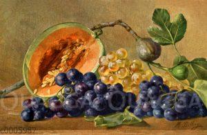 Stillleben mit Weintrauben