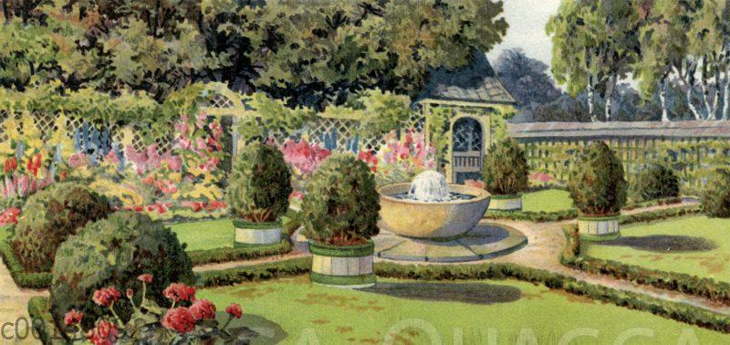 Klassische Gartenanlage