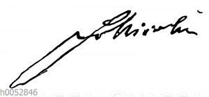 Friedrich Nicolai: Autograph