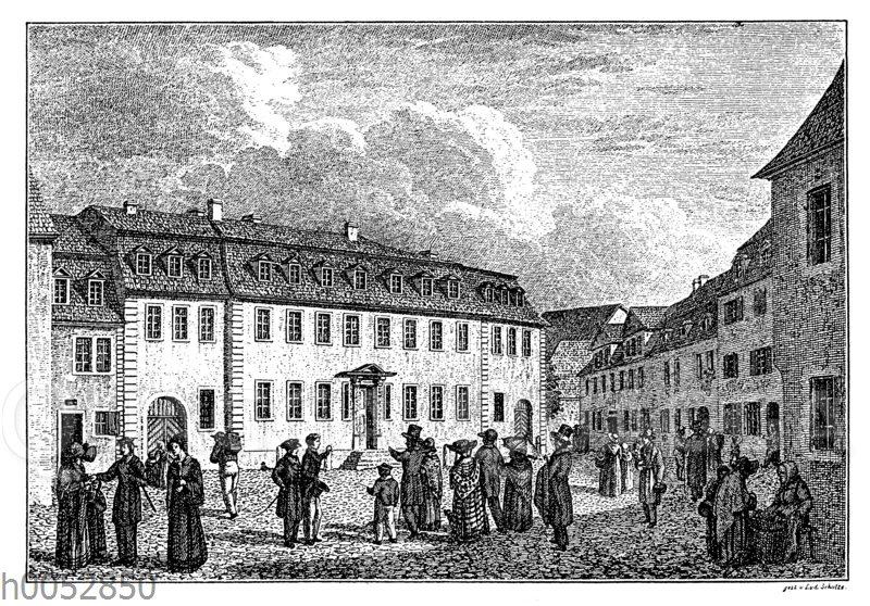 Goethes Haus in Weimar