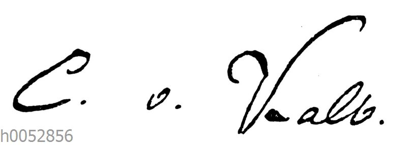 Charlotte von Kalb: Autograph