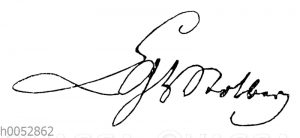 Christian Graf zu Stolberg-Stolberg: Autograph