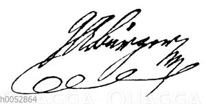 Gottfried August Bürger: Autograph