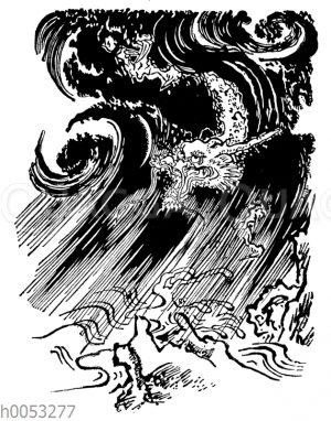 Der Drache des Wirbelsturms