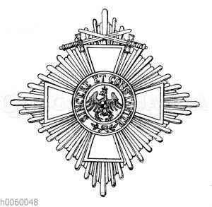 Roter Adler-Orden II. Klasse mit Schwertern am Ringe (Preußen)