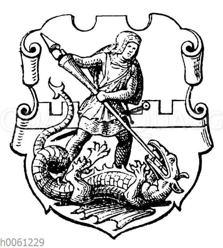 Wappen von Reichenbach in Schlesien