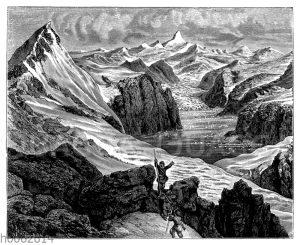 Kaiser Franz Joseph-Fjord und Petermannspitze in Ostgrönland