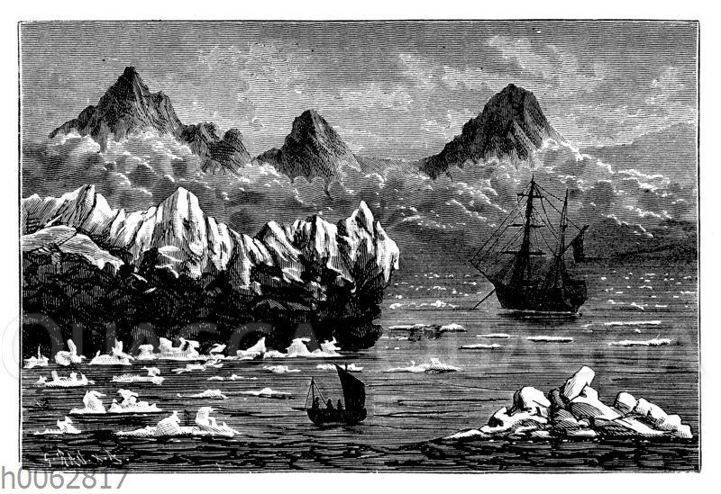 Magdalenenbai auf Spitzbergen