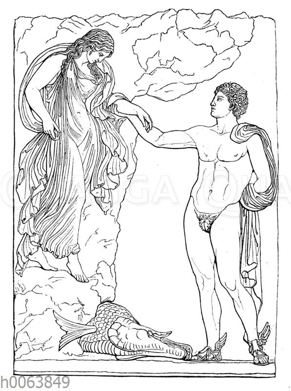 Perseus und Andromeda