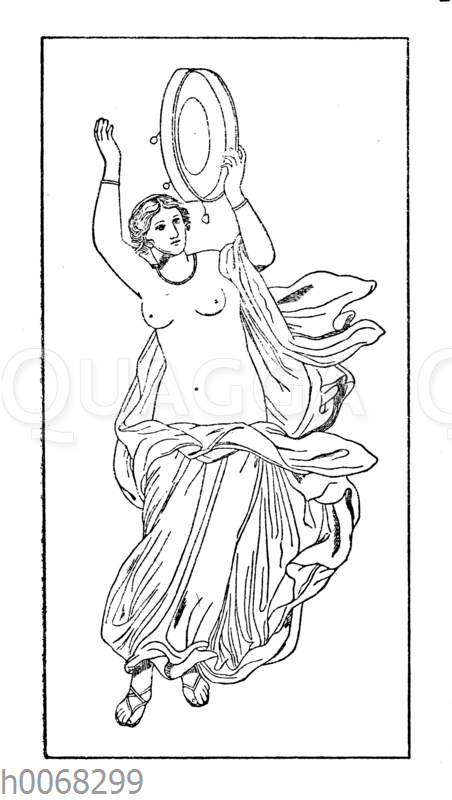 Römische Tänzerin