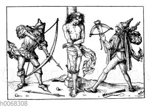 Die Marter des heiligen Sebastian