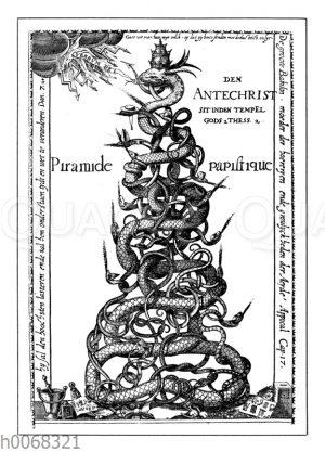 Die papistische Pyramide. Holländische