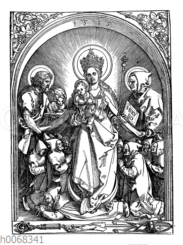 Albrecht Dürer: Madonnenbild. Genannt Die Karthäuser Madonna