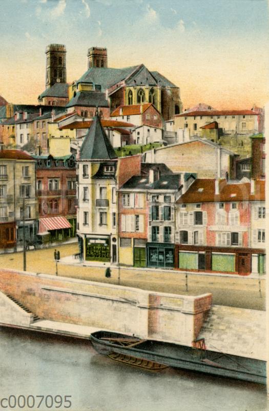 Verdun: Kathedrale und Quai de Londres