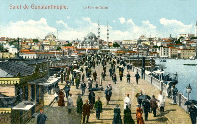 Konstantinopel: Galata-Brücke