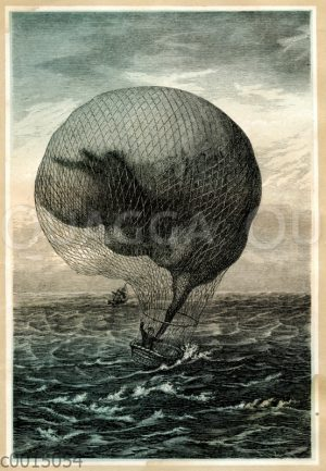 Absturz eines Heißluftballons ins Meer