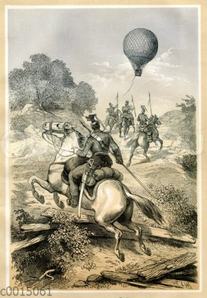 Verfolgung eines Ballons
