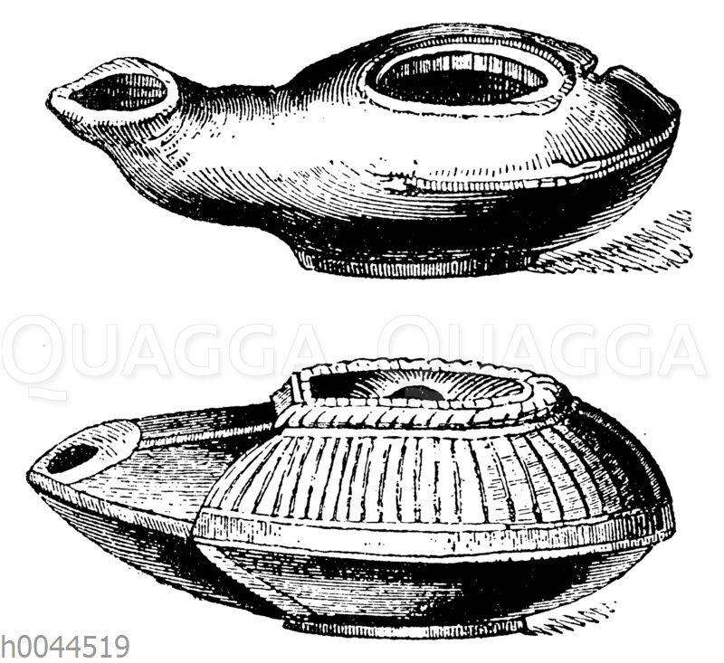 Ägyptische Öllampen