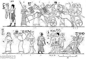 Kriegsgefangene der Ägypter