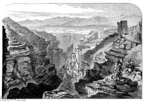 Kloster Mar-Saba in der Kidronschlucht